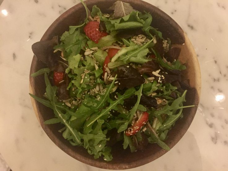 Simple but not only delicious, also nutritious, strawberries contain Iodine, which is a thyroid health Nutrient. In this recipe I use a mixture of Organic greens, amazing for liver detox and fibre …