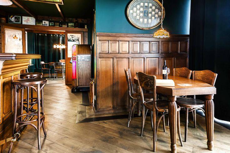 Grand Café interieur | Café | Barbouw op maat | Mencave | Oudewater | Horecameubilair | Engelse pub | Irish Pub | Antiek | Architectural Antiques