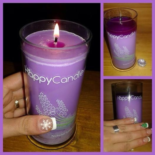 Ioana loves Natural Lavander Candle and she's got a beautiful ring too! <3