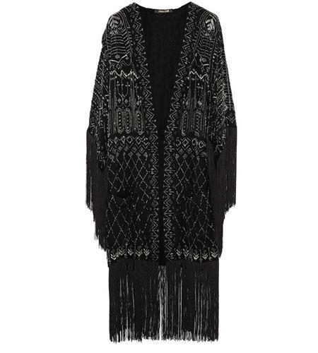 Roberto Cavalli silk-chiffon jacket
