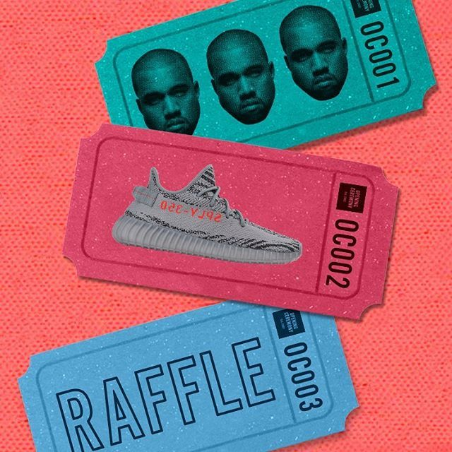 Tis the season 👟 To enter the Yeezy raffle, stop by our #OCNY Soho location on Monday 11/20 from 11am-7pm (EST) for your chance to get the #YEEZYBOOST350V2 in Beluga 2.0 (Details: Must have valid form of ID. Must be at least 10 years old. No phone, email, or online entries will be taken. All registrations must be made in person. Only one registration is allowed per person. Winners will be notified via phone on Tuesday 11/21 by 7pm)