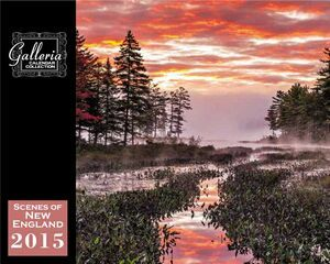 Galleria Wall Calendar 2015 Scenes Of New England (Before 8/31)