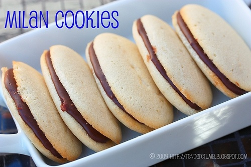 Homemade milano cookies, just like pepperidge farm!!! lncamp805