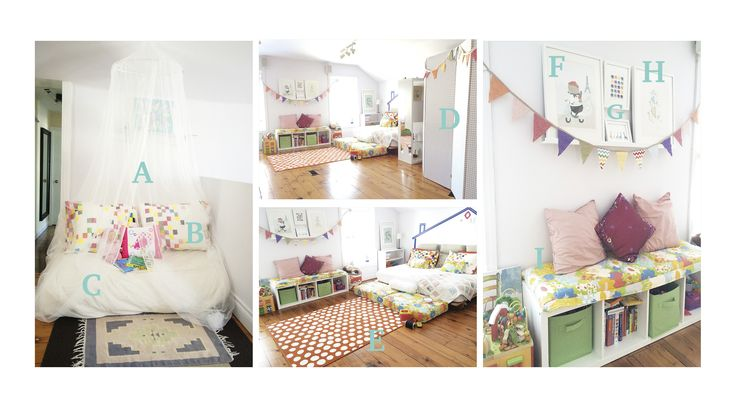 DIY Tips and Hacks for a Kid's Playroom via cablearms.com