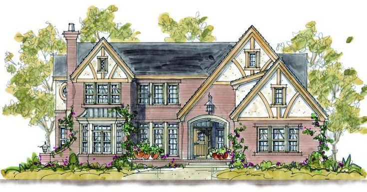 19 Best Images About Tudor House Plans On Pinterest