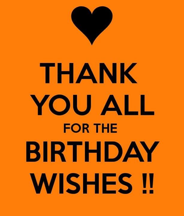 100 best Thanks Message images – Thank You Message for Birthday Greetings on Facebook