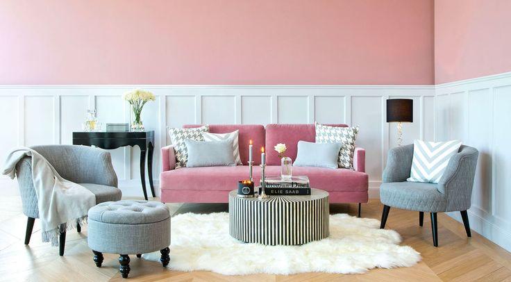 Des couleurs pour le rose | Accessoires de décoration d\'intérieur ...