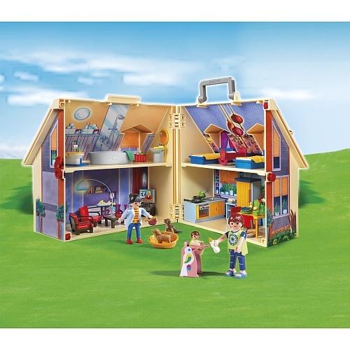 "Playmobil - 5167 Neues Mitnehm-Puppenhaus - Playmobil - Toys""R""Us"