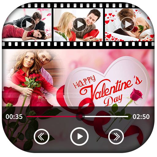 Valentine Day Slideshow With Music can help you create your our self Valentine Day Video Maker for you, your friends, your family.Valentine Day Slideshow With Music or Valentine Day Video Maker very easy to use. Create Valentine Day Wishes more elegant with Valentine Day Stickers, Themes, Relevant Music and Songs by Valentine Day Video Maker. Valentine Day Slideshow With Music App You can create videos using photos, add music to video, edit photos used for the video, add Valentine Day…