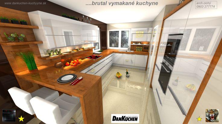 Vyberte si zo širokej ponuky kuchýň DanKüchen od klasického dizajnu až po moderné kuchyne s lesklou povrchovou úpravou. Kuchynské skrinky od výmyslu sveta nájdete v DanKüchen v Bratislave.