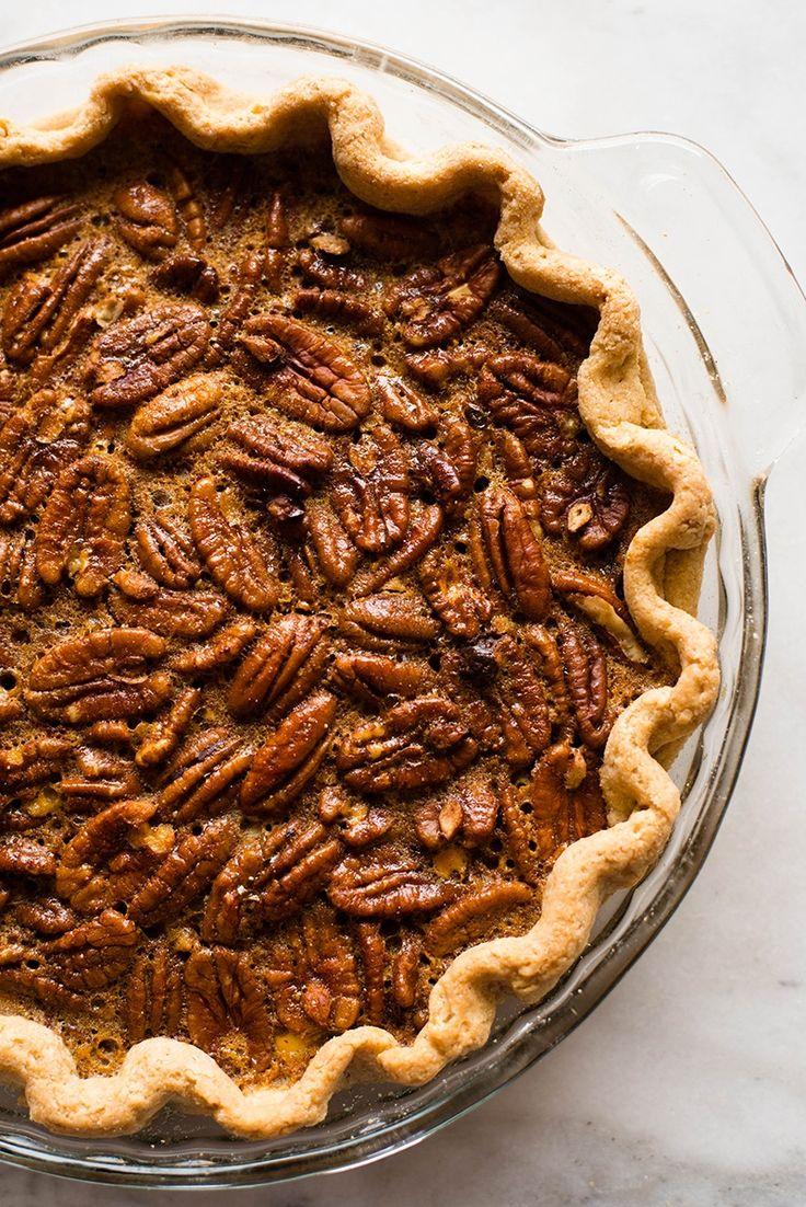 Healthy Pecan Pie • A Sweet Pea Chef