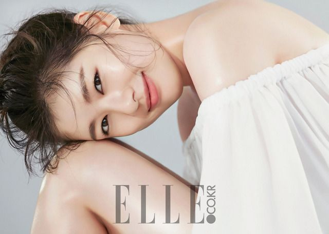 A very pretty Jung So Min for August 2016 Issue Of Elle | Couch Kimchi