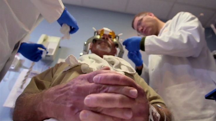 Surgeon Gabriel Weston witnesses an amazing brain surgery performed without a knife.