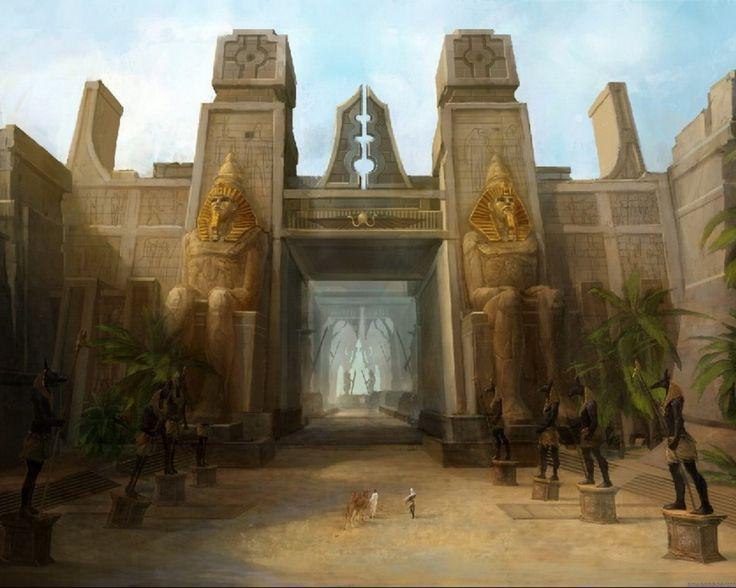 Fantasy Egypt | Egypt fantasy art wallpaper | (64840)