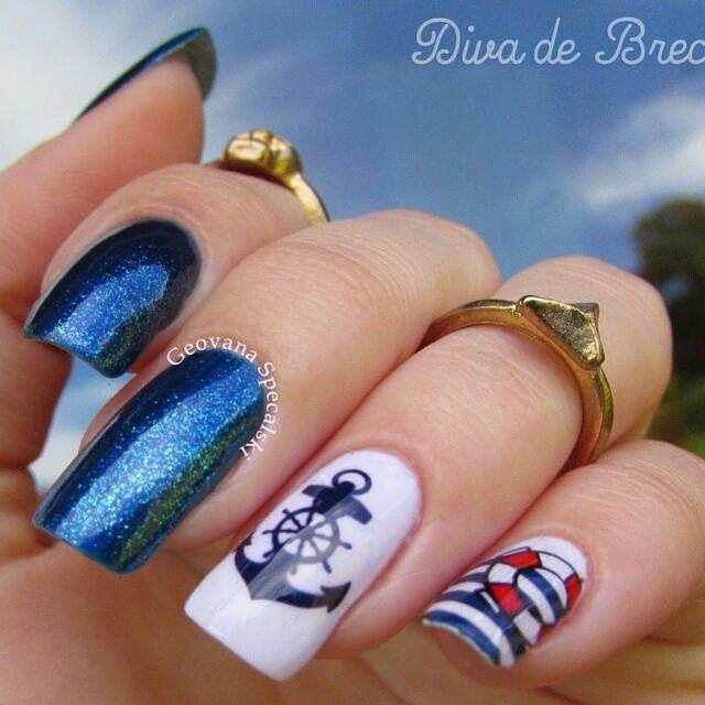 Морской дизайн ногтей. Отпуск. Лето – 300 фотографий | ВКонтакте