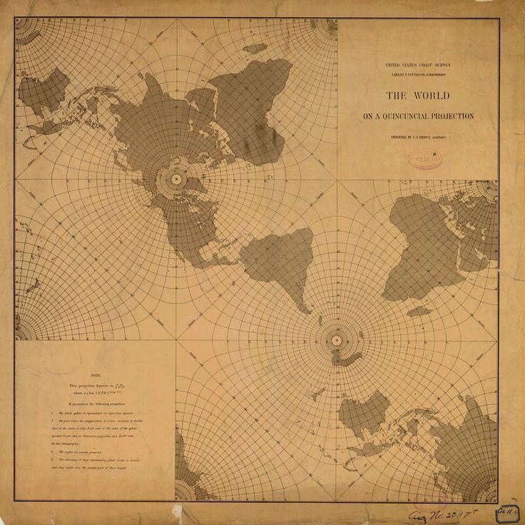 18 x 24 inch 1889 WORLD old