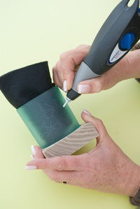 how to use dremel engraver