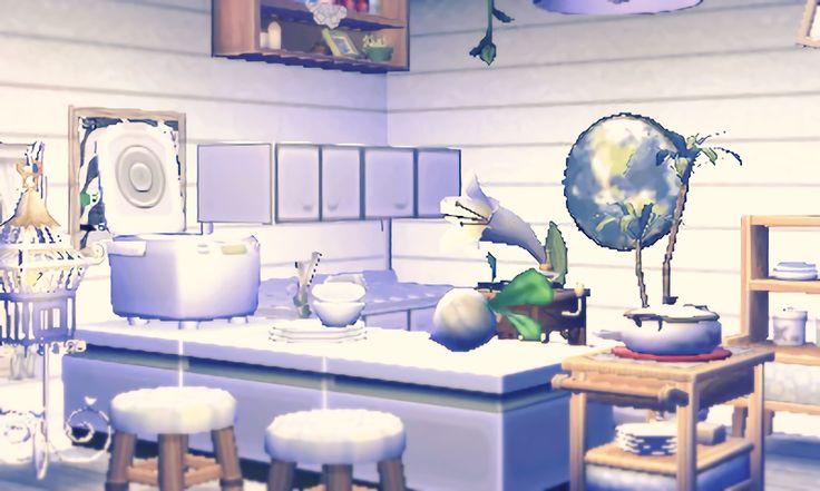 || Petite cuisine dans les tons blancs et bleus http://amzn.to/2tPfYjM