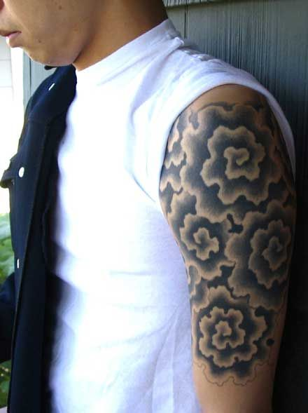 Background Tattoos Clouds