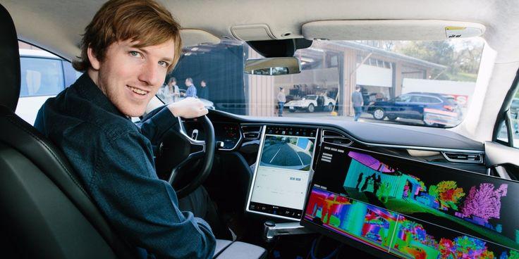 Peter Thiel-backed Austin Russell launches Luminar, a Lidar startup
