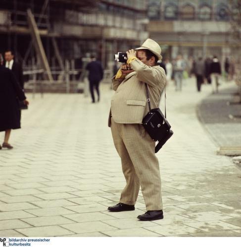 Westdeutscher Tourist in der DDR