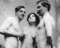 Lou Andreas-Salomé, Paul Rée and Nietzsche.