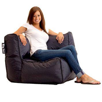 Comfort Research Big Joe Zip Modular Corner Bean Bag Lounger