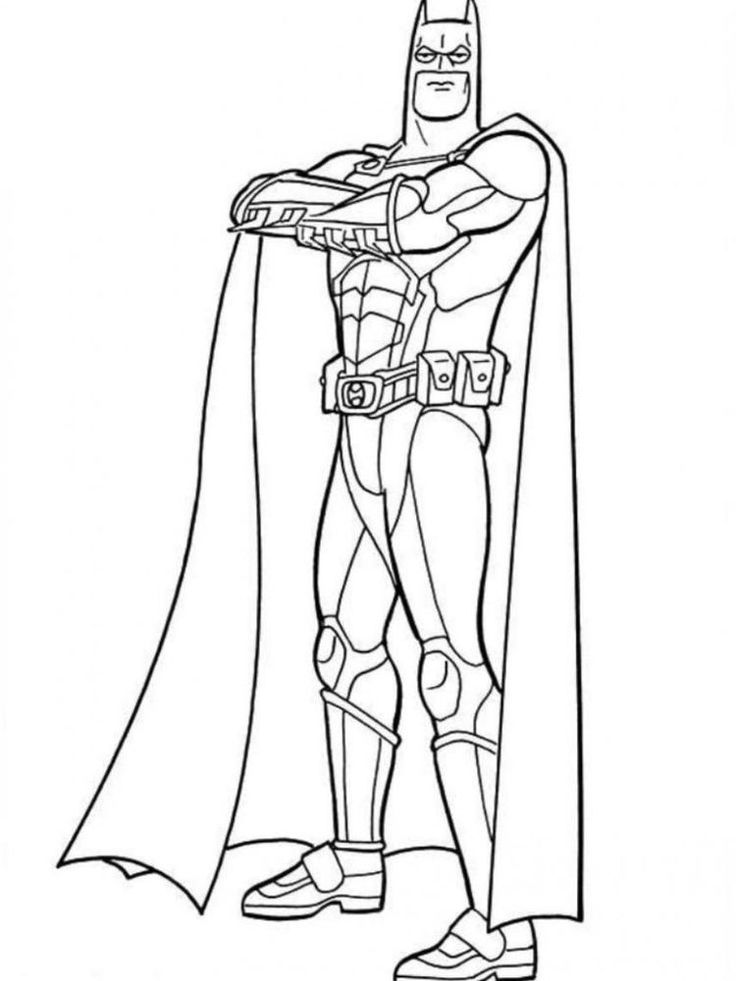 Amazing Batman Coloring Pages Printable - Free Coloring ...