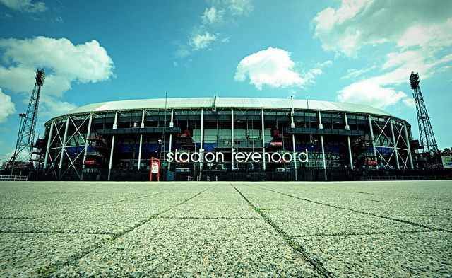 De Kuip. Soccer Stadium, home of Feyenoord.