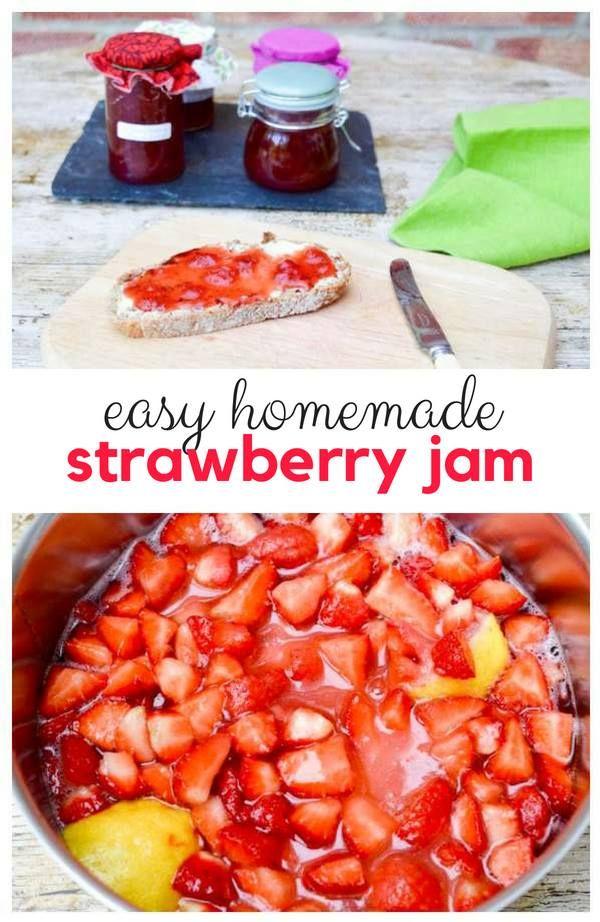 Easy Homemade Strawberry Jam