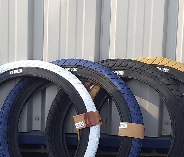 If you are looking for @devonsmillie's new signature Fuego tires in the #UK you better have your local shop contact @imgdistribution to get your order in! These just landed and they're already going fast!! #bmx #flybikes #imgdistribution #style #tire #rubber #2017 #fuego #bike #bicycle