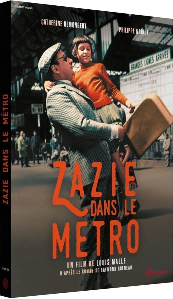 Zazie dans le métro Catherine Demongeot - DVD
