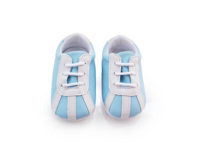 Детские малыш обувь поло детская обувь светло-голубой детские ботинки мягкое дно противоскользящие детские первые ботинки ходока