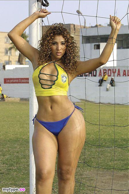 Thick nude brazilian women