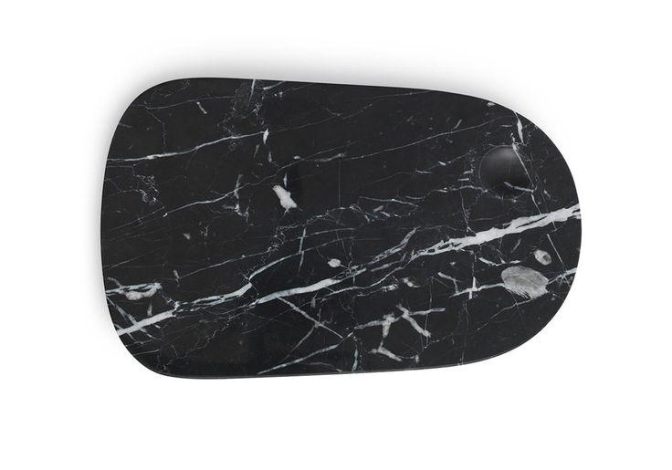 Normann Copenhagen Pebble board in black marble