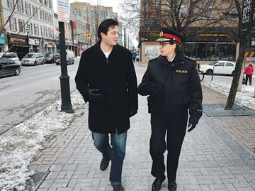 Barrie Newsmakers 2014: Barrie named safest city in Canada - The challenge to being named the safest city in Canada is staying on top, Mayor Jeff Lehman says.