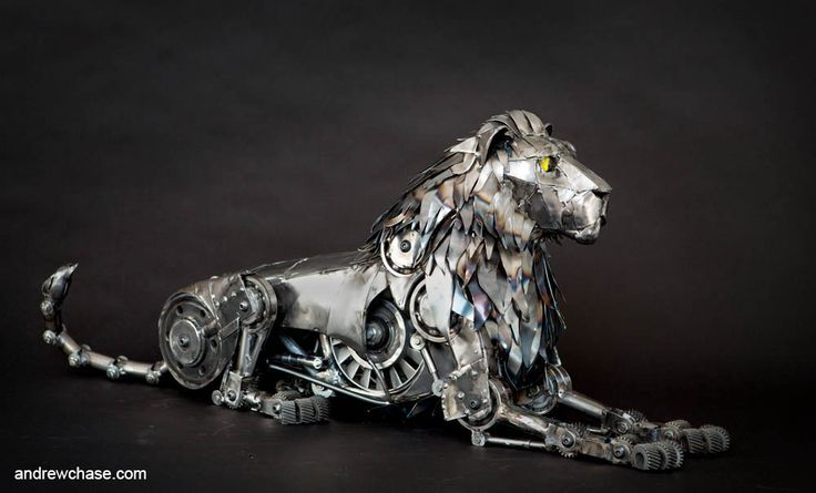 Andrew Chase's Spectacular Lion and Wolf /by @42concepts