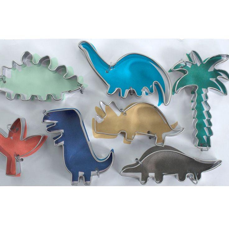Dinosaurus koekjes bakken