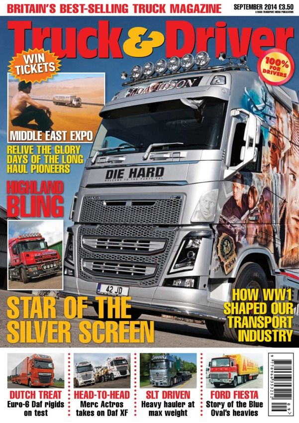 Truck & Driver September 2014 edition - Read the digital edition by Magzter on your iPad, iPhone, Android, Tablet Devices, Windows 8, PC, Mac and the Web.