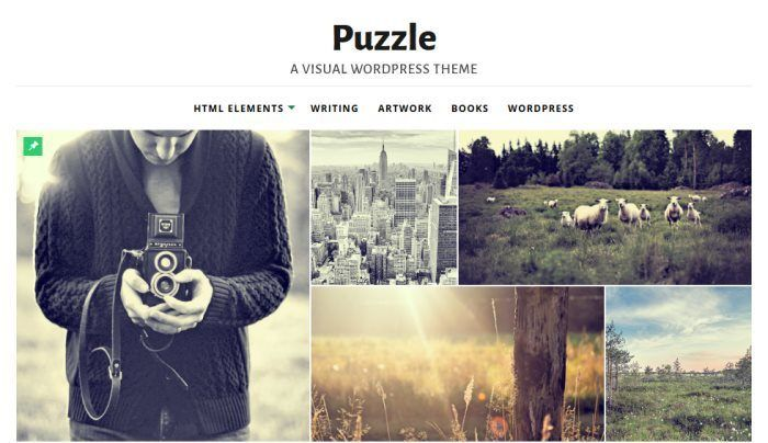Puzzle – Responsive WordPress Theme