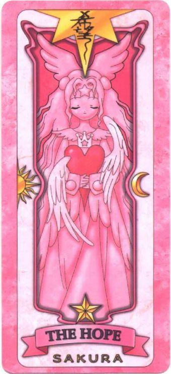 La Esperanza (The Hope, 希望) es la carta número 54 de las Cartas Sakura, creadas por CLAMP, para...