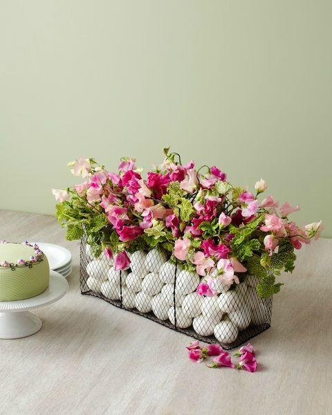 idée déco paques fleurs oeufs nakedbouquetcom