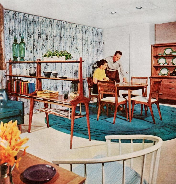 'Better Homes and Gardens Decorating Ideas', 1960 | 1950s ...