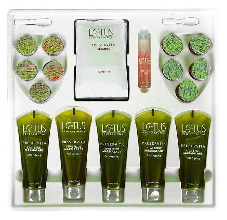 Lotus Professional Preservita Advanced Anti-Ageing Kiwi Fruit Marmalade Facial  #LotusHerbals