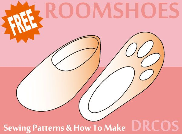 Free Sewing Slipper Patterns Choice Image - origami instructions ...