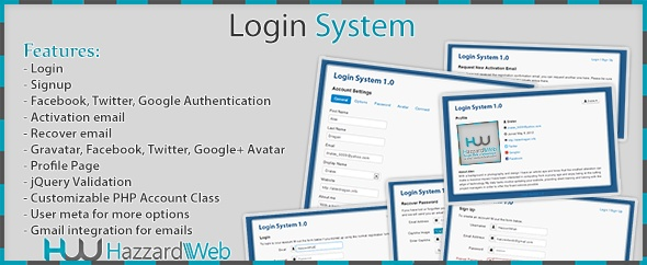 Account System Multi-Feature
