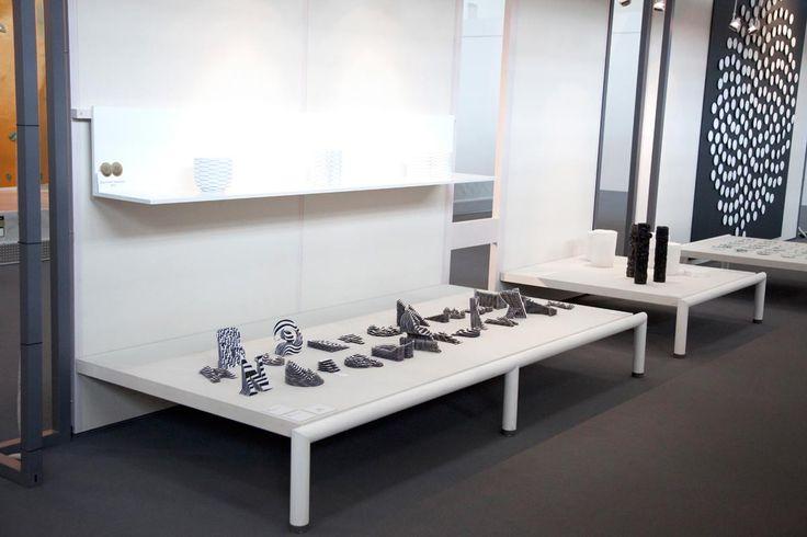 Exhibition of Talente 2015, Munich. Sculptures by Jerome Corgier