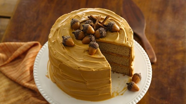 Packed with cinnamon, sugar, ginger and nutmeg, this flavorful spice cake is perfect for fall.
