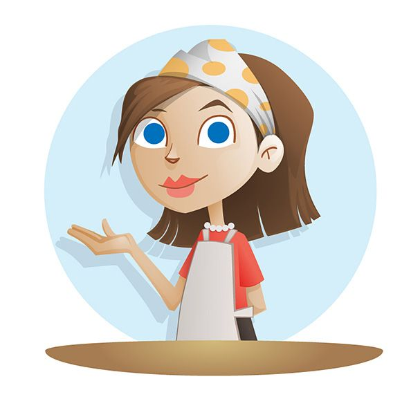 Cartoon Food Processor ~ Best free vector characters images on pinterest