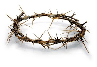 """""""And the soldiers twisted together a 'crown of thorns' and put it on His head and arrayed Him in a purple robe.""""  John 19:2"""